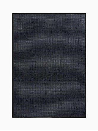 Nourison Calvin Klein Home CK740 Seattle Area Rug, 8 x 10, Charcoal/White