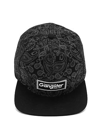 Gangster Boné Gangster Estampado Preto