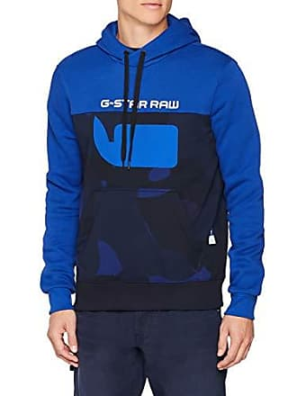 9dd1d78d5f912 G-Star Grapic 20 Core Hooded SW Ls, Sweat-Shirt À Capuche Homme