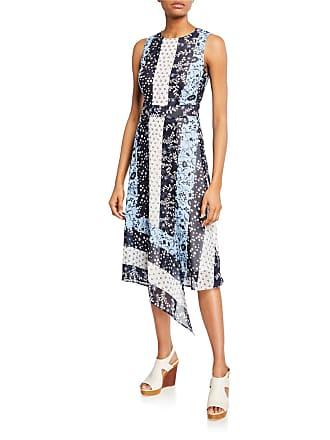 Iconic American Designer Faux-Wrap Maxi Dress