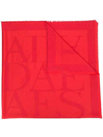 Escada repeat logo scarf - Vermelho