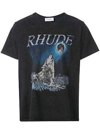 Rhude Camiseta com estampa gráfica - Preto
