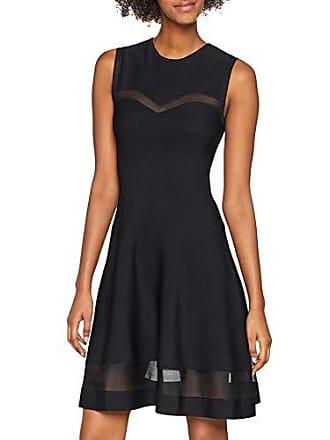 52793e0d81a1 Guess Abito SL RN Audrey Sweater Vestito Elegante, Nero (Jet Black A996  Jblk)