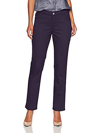 fb7f44c8 Lee Womens Petite Instantly Slims Classic Relaxed Fit Monroe Straight Leg  Jean, Regal, 18