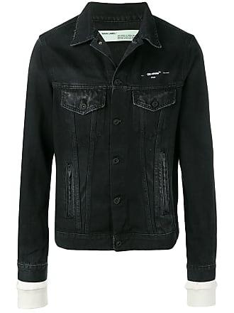 Off-white Caban denim jacket - Black