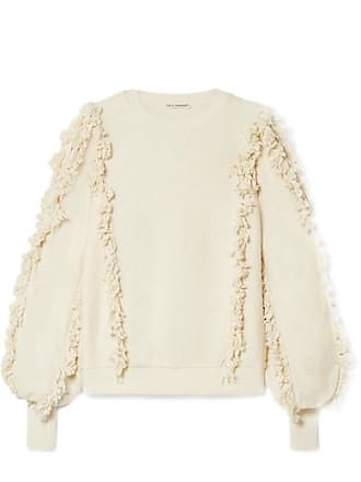 9cace59402ec05 Ulla Johnson Hali Fringed Cotton-terry Top - White