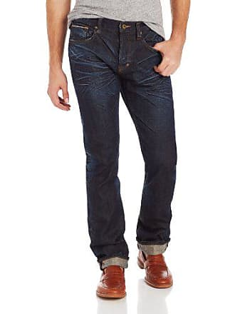 Prps Mens Barracuda Regular Fit Straight Leg Selvedge Jean in Six Month, Six Month, 42