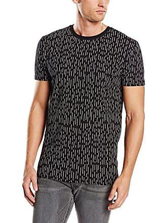 8dd98c28 Revolution (RVLT) Stripred Print-Camiseta Hombre