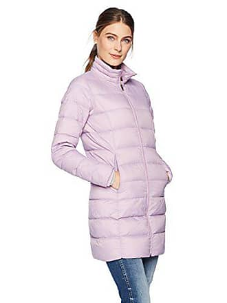 Amazon Essentials Womens Lightweight Water-Resistant Packable Down Coat, Purple, X-Small