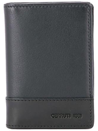 Cerruti two tone foldover wallet - Black