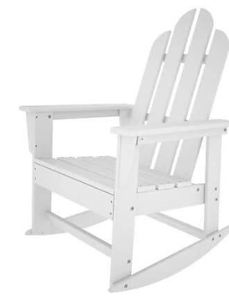 POLYWOOD Long Island Recycled Plastic Adirondack Rocking Chair