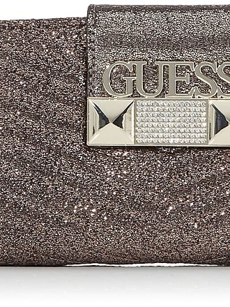 Guess Jazzie, Womens Top-Handle Bag, Silver (Pewter), 4.5x12x26 cm (W x H L)