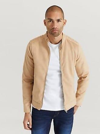 Beige Jacket 011BD38006 | Gaudi | Läderjackor | Miinto.se