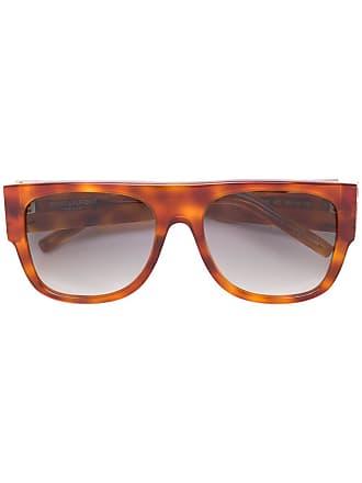ef89327415 Saint Laurent Eyewear oversized sunglasses - Brown