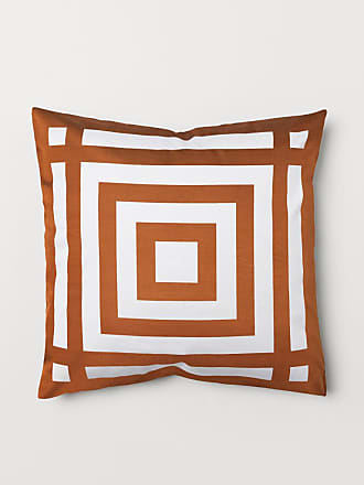 H&M Patterned Cushion Cover - Orange