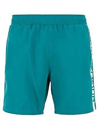 ba66dde75 BOSS Medium-length swim shorts with heat-sealed logo print