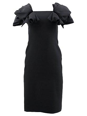 92b80ccfb6 Alexander McQueen Alexander Mcqueen Black Ruffle Dress Us 2