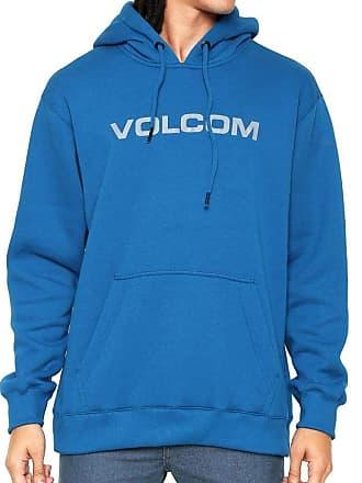Volcom Moletom Canguru Imprint Masculino Volcom Azul Royal - M