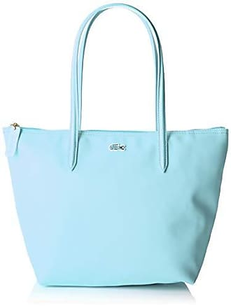 db643e8b5a Lacoste femme Nf2037po Sac porte epaule Bleu (Clearwater)