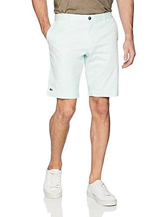 Lacoste Mens Slim Fit Chino Bermuda Shorts, FH7422, Forest Blue 42