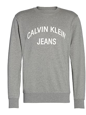 4bc3c7c4b3b Calvin Klein Sweater met ronde hals Institutional Curved Logo