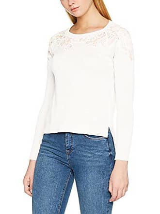 1866775cdde79 Only Onlmaia L s Pullover KNT, Pull Femme, Blanc (Cloud Dancer Detail