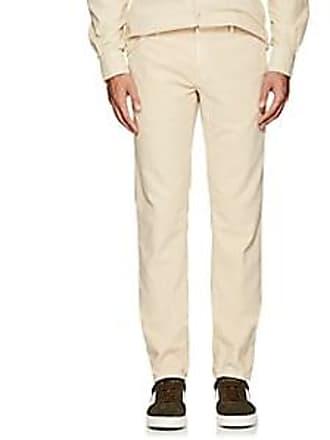Incotex Mens Cotton Corduroy Slim Trousers - Beige/Tan Size 40