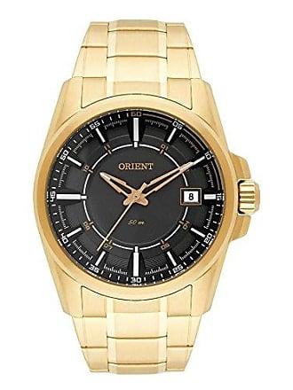 Orient Relógio Orient Masculino Ref: Mgss1145 G1kx Casual Dourado