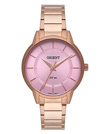 Orient Relógio Orient Feminino Ref: Frss0042 R1rx Slim Rosé