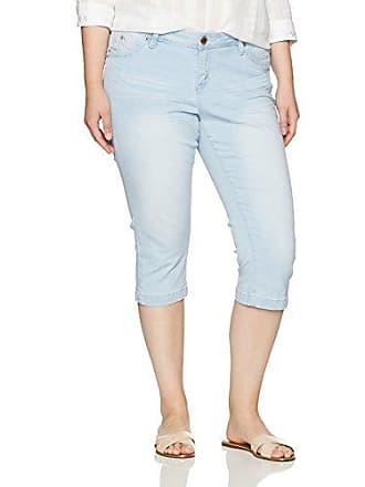 dc81740d149 YMI Womens Plus Size Juniors Wannabettabutt Single Button Roll Cuff Capri