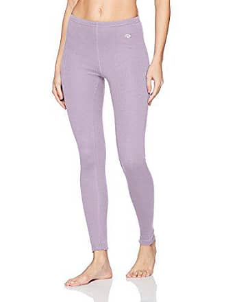 7fd6a815d3881 Duofold by Champion Womens Mid Weight Wicking Thermal Legging, Lilac wash,  Large