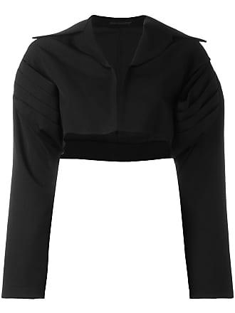 Yohji Yamamoto cropped bolero jacket - Black