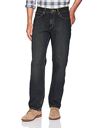 Lee Mens Relaxed Fit Straight Leg Jean, Python, 33W x 32L