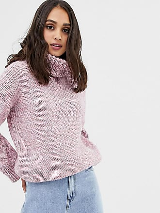 Oneon OneOn hand knitted oversized rainbow sweater - Pink