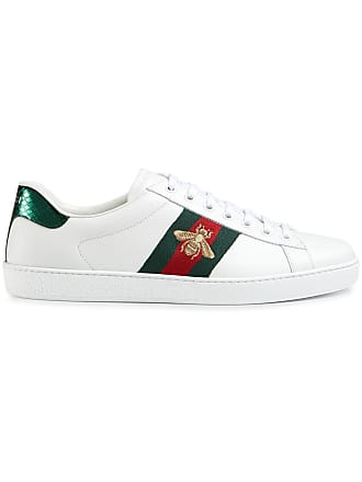 Gucci Ace embroidered low-top sneakers - White 65d5c8278223