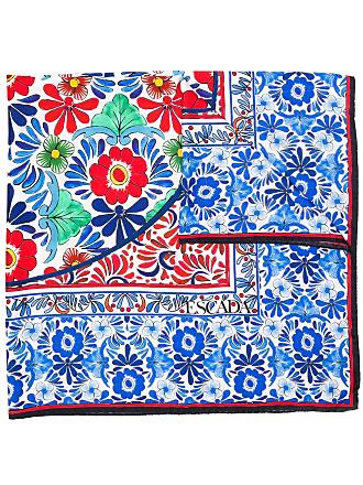 Escada floral print scarf - Branco