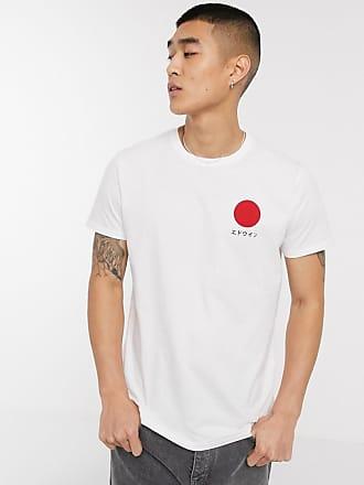Edwin Japanese Sun - T-shirt bianca-Bianco