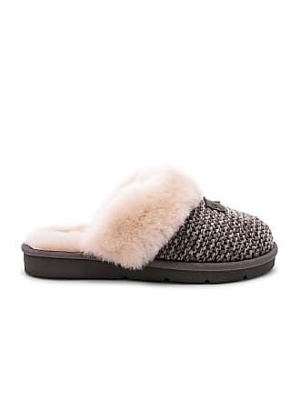 UGG Cozy Knit Slipper in Charcoal
