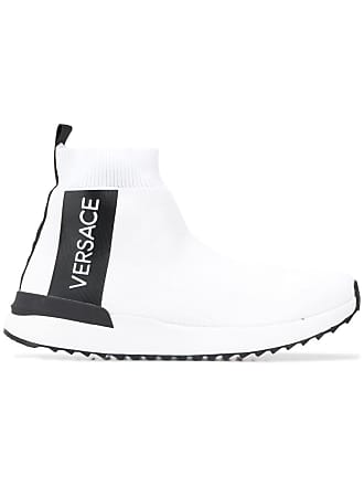 Versace Jeans Couture sock sneakers - White