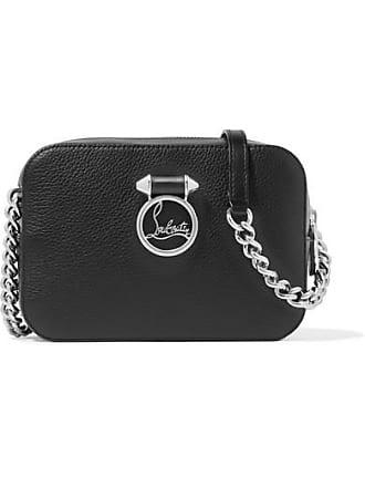 8e5383e84941 Christian Louboutin Rubylou Textured-leather Shoulder Bag - Black
