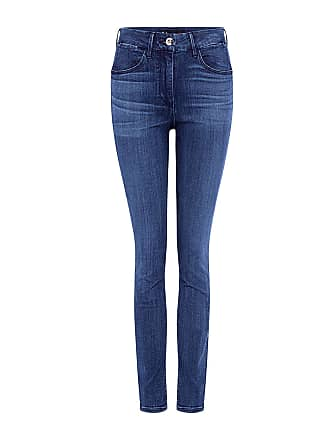 3x1 High Rise Channel Seam Skinny Jeans Teras
