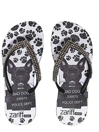 Zariff Chinelo Zariff Shoes Infantil Strass Cachorro