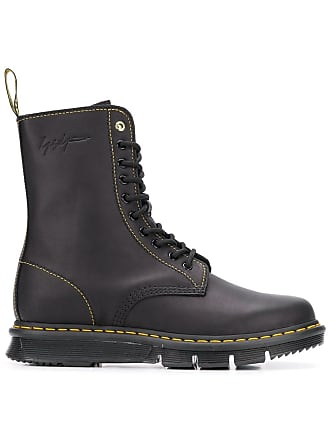 Dr. Martens Dr. Martens x Yohji Yamamoto laced ankle boots - Black