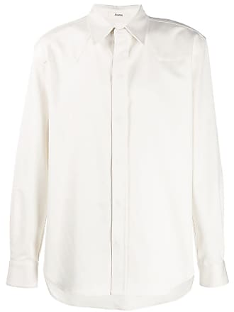 Zilver Camisa com fechamento oculto - Branco