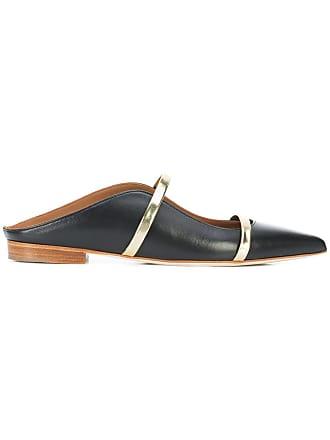 Malone Souliers Sapato Maureen de couro com bico fino - Preto