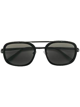 Emmanuelle Khanh square frame sunglasses - Preto