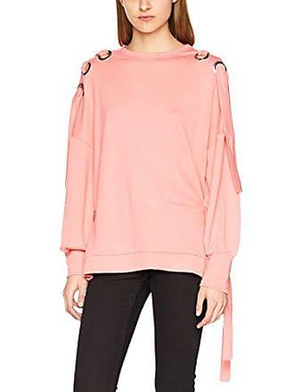 051da06f7edd64 Only Damen onlEISHA L/S Oversize SWT Sweatshirt, Rosa (Strawberry Ice),