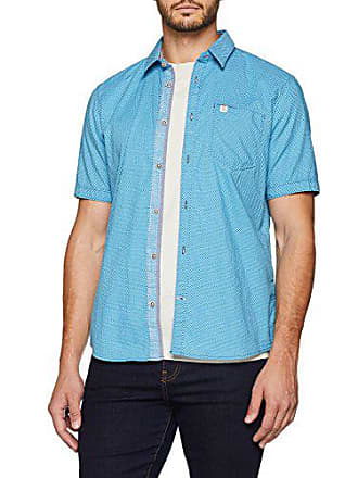 1e65b3293b54f5 Tom Tailor Herren Freizeithemd fein gemustertes halbarm Hemd Elfenbein  (Original 1000) Large