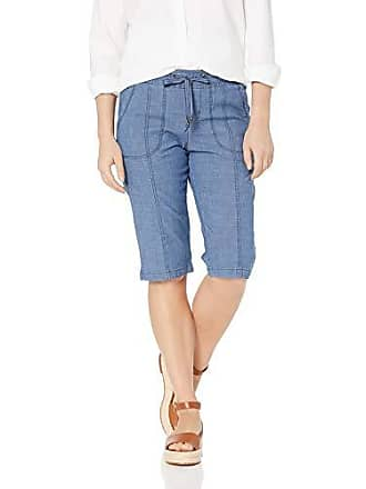 aaa8dfe6 Lee Womens Petite Flex-to-Go Relaxed Fit Pull-On Utility Capri Pant