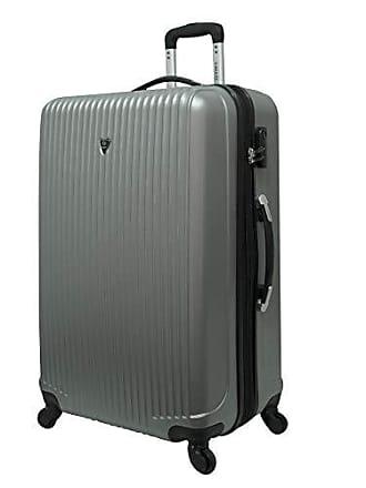 Yin's Mala de Viagem Pequena ABS c/Carrinho Prata YS1004PA-P